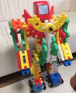 学研のニューブロックでロボ作成