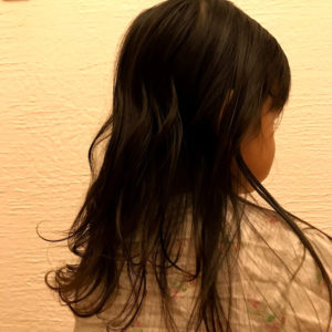 after サラつや髪に